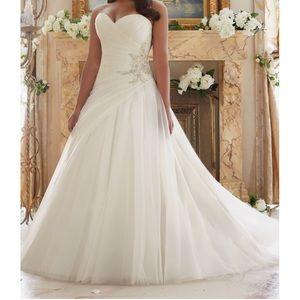 Mori Lee wedding gown #3203